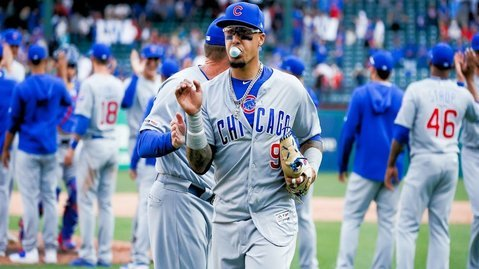 In addition to being an All-Star baseball player, Javier Baez is an amateur tattoo artist. (Credit: Ray Carlin-USA TODAY Sports)