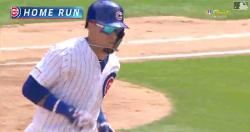 WATCH: Javier Baez crushes towering 401-foot solo bomb