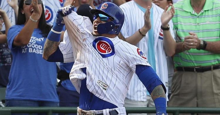 El Mago was excited after the go-ahead homer (Jim Young - USA Today Sports)