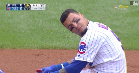 Javier Baez is expected to miss the remainder of the regular season because of a hairline fracture in his thumb but could potentially return for the playoffs.