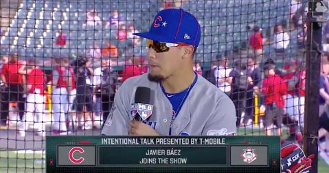 """Javier Baez entered himself into an unofficial """"swag"""" competition with fellow Puerto Rican shortstop Francisco Lindor."""