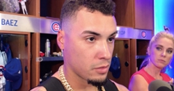 WATCH: Javier Baez discusses his injury recovery, pinch-hitting appearance