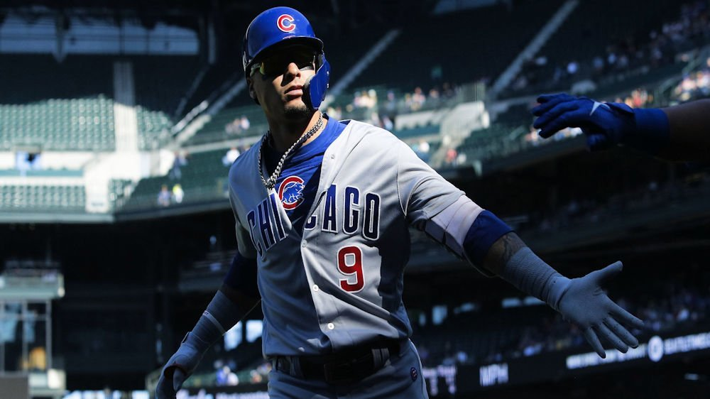 new style 0e649 71a49 WATCH: Baez pinch hits in ninth, smacks walk-off single   CubsHQ