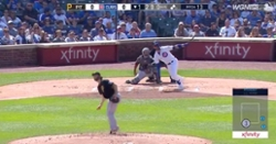 WATCH: Kris Bryant breaks Ernie Banks' home-run record with 3-run shot