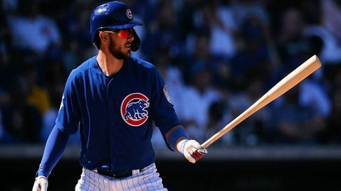 Cubs lineup vs. Marlins, Kris Bryant at LF