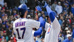 Anthony Rizzo reacts to Kris Bryant trade rumors