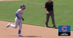 WATCH: Reds announcer gets ticked off after Kris Bryant goes yard