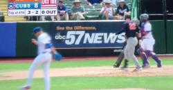 WATCH: Cubs pitching prospect does 'skip-to-my-lou' celebration after strikeouts