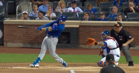 Chicago Cubs catcher Victor Caratini showed out at the plate and in the field in the month of August.