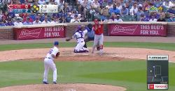 WATCH: Victor Caratini channels Willson Contreras, makes  perfect pickoff throw