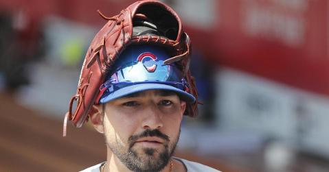 Fiery Chicago Cubs right fielder Nicholas Castellanos wears his emotions on his sleeve. (Credit: David Kohl-USA TODAY Sports)