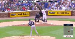 WATCH: Nicholas Castellanos gives Cubs early lead with 2-run bomb