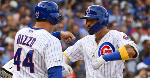 Nicholas Castellanos and Anthony Rizzo combined for seven RBI in helping lead the Cubs to an impressive win over the Pirates. (Credit: Matt Marton-USA TODAY Sports)