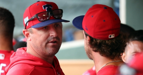 Chris Young is the new bullpen coach for the Cubs (Kim Klement - USA Today Sports)