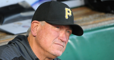 After nine seasons on the job, Pittsburgh Pirates manager Clint Hurdle was fired on Sunday. (Credit: Philip G. Pavely-USA TODAY Sports)