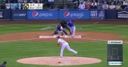 WATCH: Willson Contreras gives Cubs lead over Brewers with 2-out double