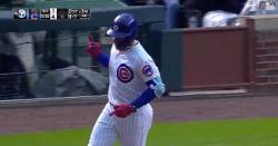 WATCH: Willson Contreras goes yard again with 400-foot solo bomb