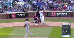WATCH: Willson Contreras hammers solo shot for his 16th dinger