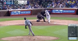 WATCH: Willson Contreras smashes 450-foot blast in his return plate appearance