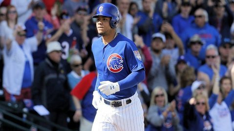 Cubs sign pre-arbitration contracts with 17 players including Contreras, Almora, Happ