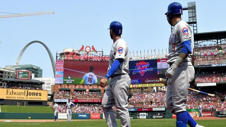 The Chicago Cubs and the St. Louis Cardinals will take their rivalry across the pond next year. (Credit: Jeff Curry-USA TODAY Sports)