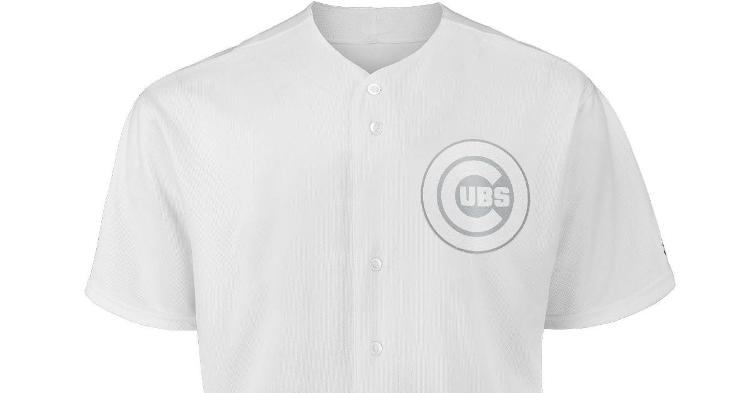 The Chicago Cubs will wear all-white uniforms for this year's MLB Players' Weekend.