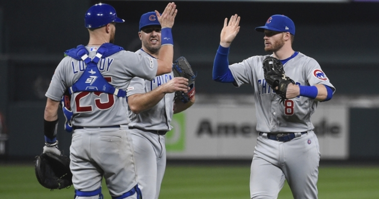 As a result of their 8-6 victory, the Chicago Cubs will have a chance to sweep the St. Louis Cardinals on the road to close out their season. (Credit: Joe Puetz-USA TODAY Sports)