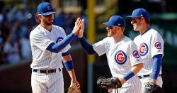 Glaring sunshine helps Cubs shut out Giants, complete sweep