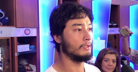 Chicago Cubs starting pitcher Yu Darvish was too upset by the Cubs' loss to enjoy his historic 13-strikeout performance.