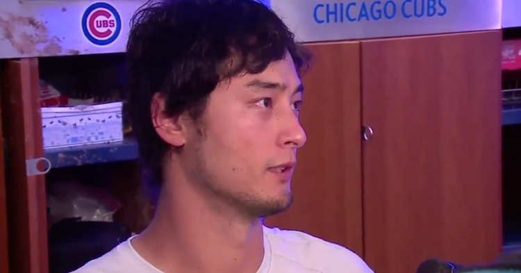 Chicago Cubs starting pitcher Yu Darvish was beside himself after the Cubs endured yet another frustrating loss on Sunday.