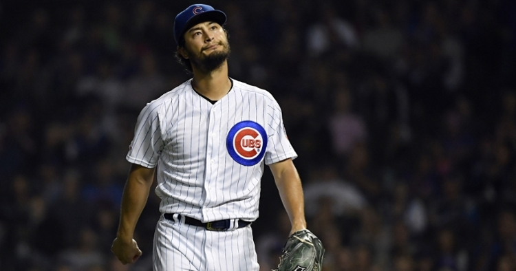 Despite Yu Darvish's dominance on the mound, the Chicago Cubs came up short to the Cincinnati Reds. (Credit: Quinn Harris-USA TODAY Sports)