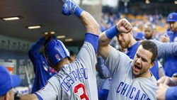 Fly the W, Schwarber 440-foot blast, Russell to AAA, Baez and Sosa, more