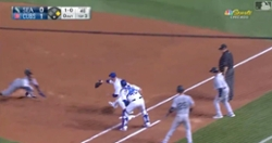 WATCH: Cubs pull off incredibly rare 9-1 double play due to bad baserunning