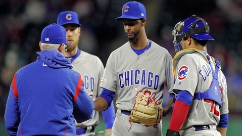 Cubs send Carl Edwards to Iowa, Mike Montgomery to IL, and recall two pitchers