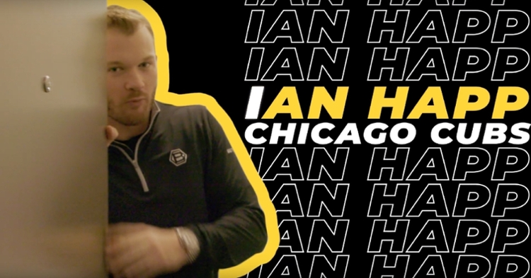 Chicago Cubs utility player Ian Happ provided fans with an up-close look at his Windy City digs.