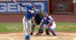 WATCH: Cubs rack up six runs off Noah Syndergaard in high-flying inning