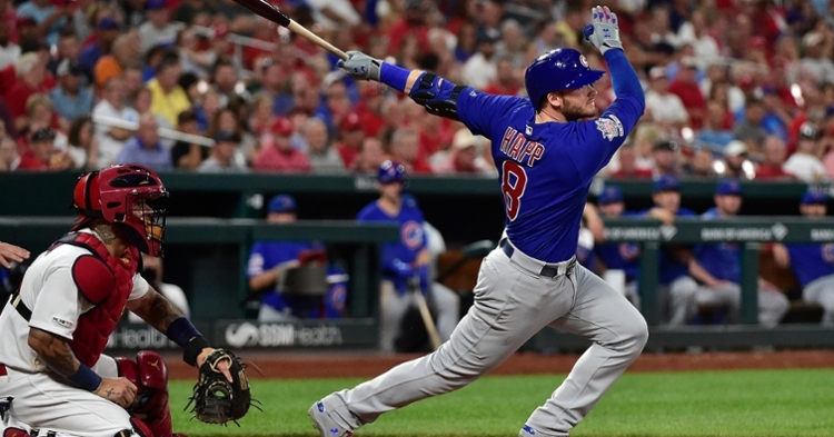 Ian Happ helped the Cubs put a stop to their losing ways by going 3-for-5 and driving in a couple of runs. (Credit: Jeff Curry-USA TODAY Sports)