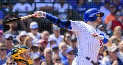 Chicago Cubs lineup vs. Giants: Ian Happ at 2B, Caratini at catcher