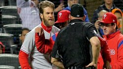 Jake Arrieta calls out Bryce Harper over ejection