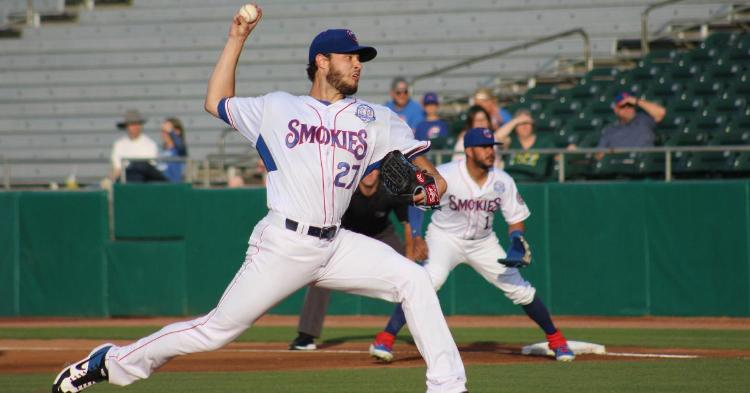 Thomas Hatch had a decent outing on Monday (Photo Credit: TN Smokies)