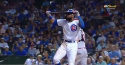 WATCH: Jason Heyward breaks his bat in frustration, stays shockingly calm