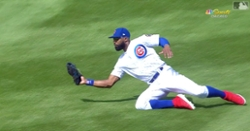 WATCH: Jason Heyward lays out for impressive catch