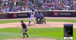 WATCH: Jason Heyward smashes go-ahead 410-foot rainmaker