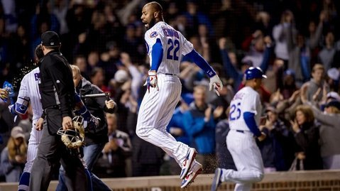 Jason Heyward has tallied two walk-off home runs and six walk-off RBI in his career. (Credit: Patrick Gorski-USA TODAY Sports)