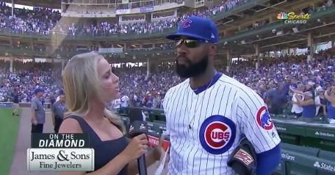 "Right fielder Jason Heyward said that ""it's time"" for the Chicago Cubs to make a habit out of winning again."
