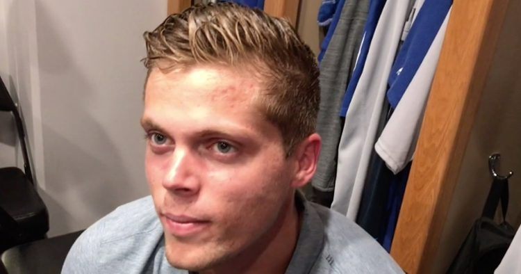 Shortstop Nico Hoerner wowed in his first-ever appearance with the Chicago Cubs on Monday night.
