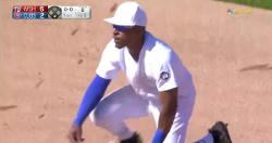 WATCH: Tony Kemp goes airborne for spectacular diving stop