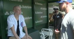 WATCH: Jon Lester meets teenager battling cancer, exchanges autographs with her