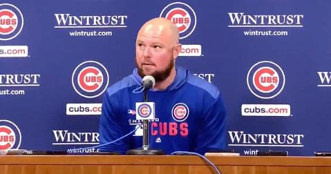 In his postgame press conference, Jon Lester incited laughter with his sarcastic responses to several questions.