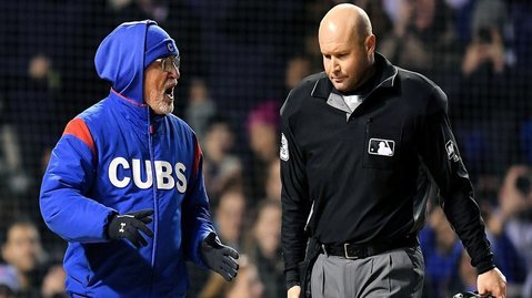 Joe Maddon proved that getting ejected is not that hard after all. (Credit: Quinn Harris-USA TODAY Sports)